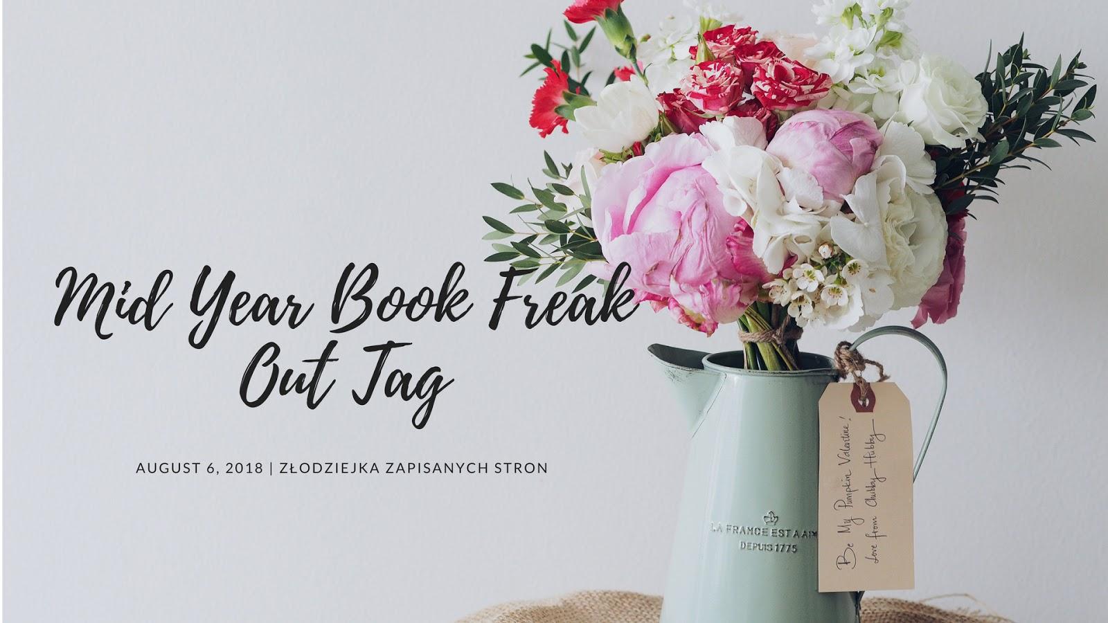 Mid year book freak out tag | czyli podsumowanie pierwszego półrocza 2018