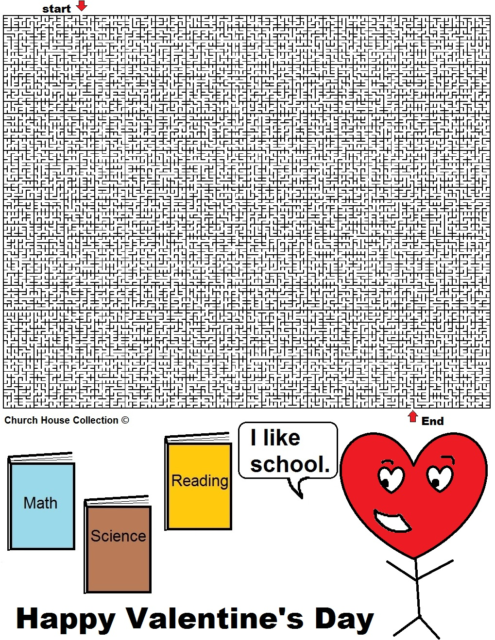 Uncategorized Valentine Mazes church house collection blog valentines day mazes for school these are teachers to print off and use class or them your kids at home