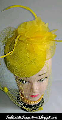 Yellow fascinator hats for sale in Kenya