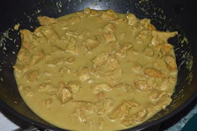 Curry z piersi kurczaka