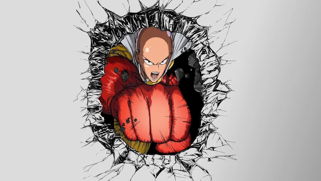 Saitama One Punch Man 4k Wallpaper 9