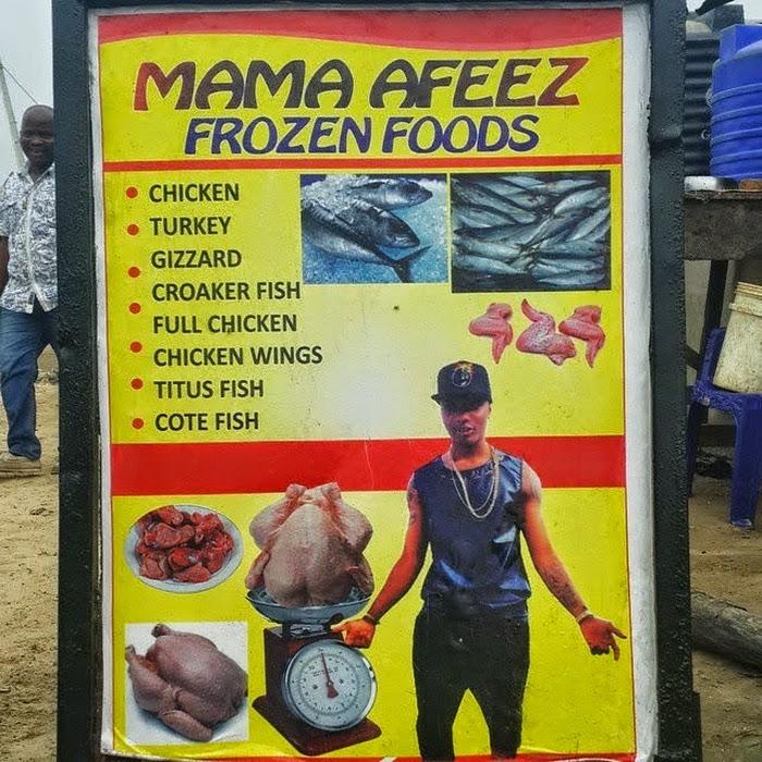 Banner Frozen Food - desain spanduk keren