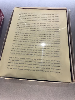 Translated props from The Shining for foreign film releases
