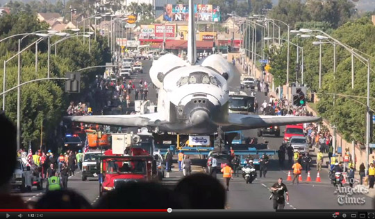 space shuttle endeavour time lapse - photo #34