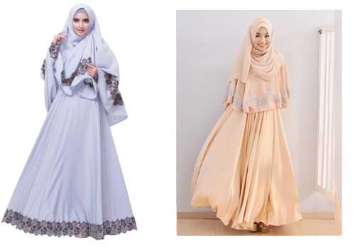 Baju hijab Syar'i untuk lebaran