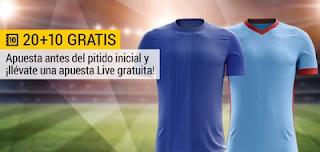 bwin promocion bono 10 euros Getafe vs Celta 19 febrero