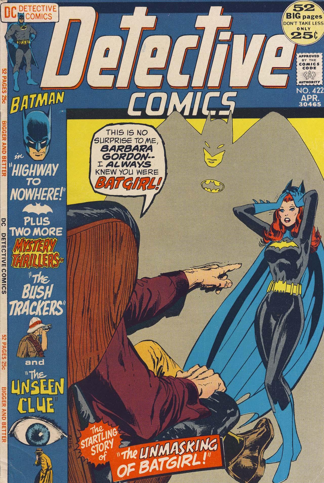 Detective Comics (1937) 422 Page 1