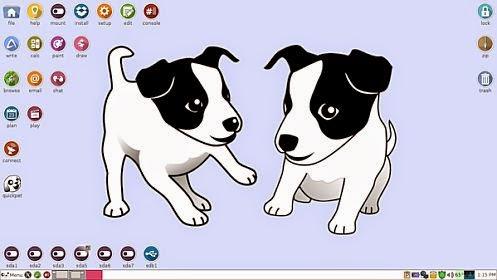 ελαφριά Διανομή για παλιούς υπολογιστές - Puppy Linux