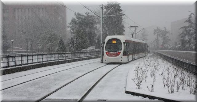 Şehir merkezinde karla karışık yağmur ve kar, yükseklerde ise kuvvetli kar yağışı 2 gün boyunca etkili olacak.