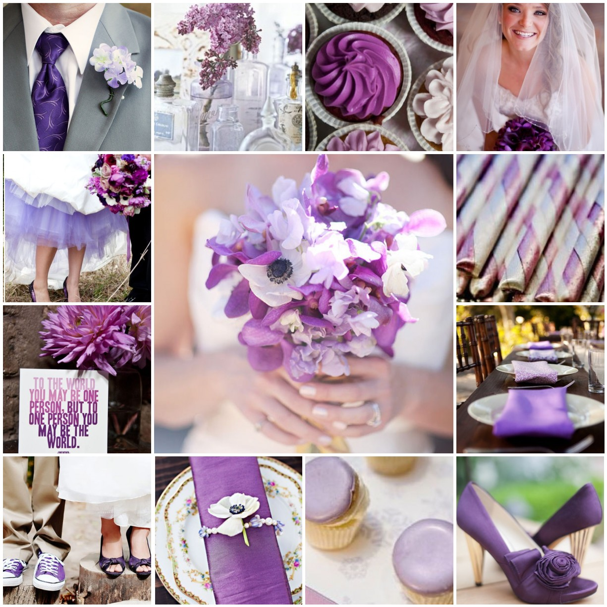 Purple, Purple And More Purple