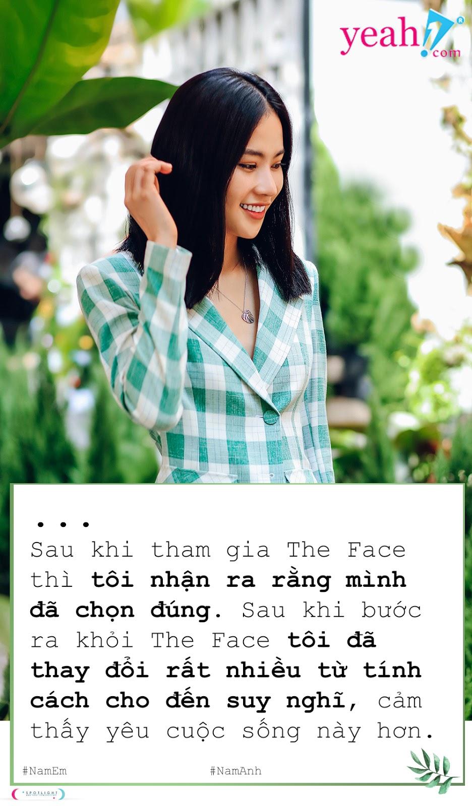 """Nam Anh - Tắc kè hoa ẩn mình dưới cái bóng """"Chị gái Nam Em"""""""