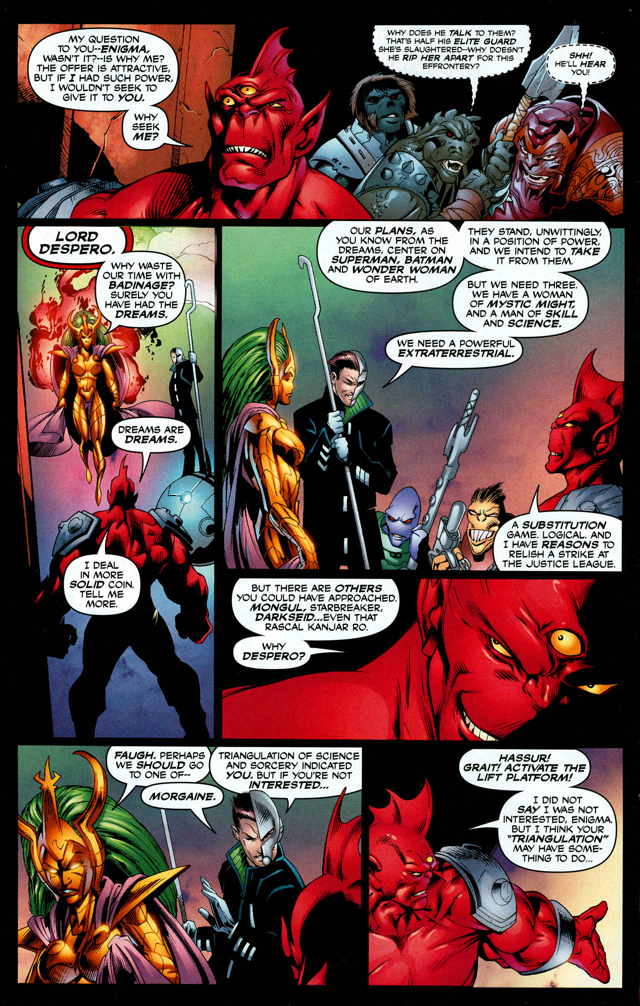 Read online Trinity (2008) comic -  Issue #8 - 4