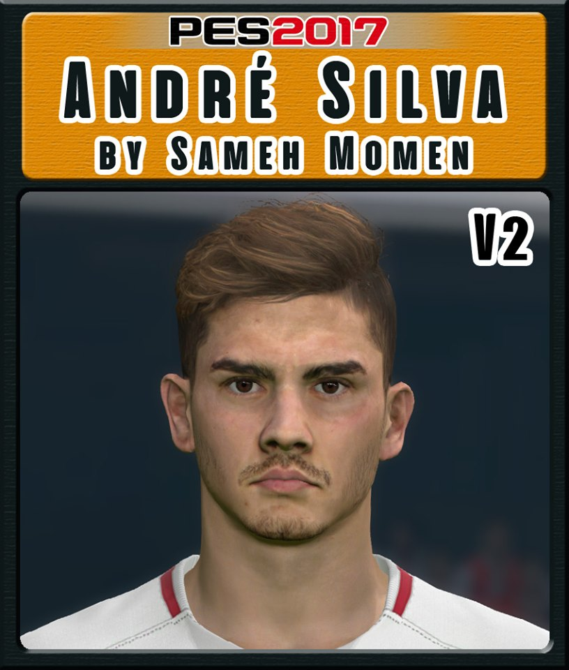 Pes 2017 L Moura Face By Sameh Momen: PES 2017 Faces André Silva By Sameh Momen