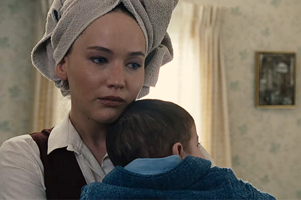 "Jennifer Lawrence in the role of a single mother in new trailer for drama ""Joy"""