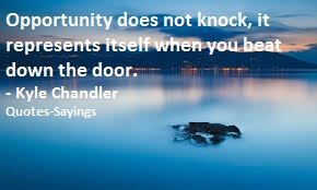 quotes on opportunity
