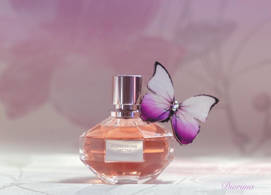 hajuvesi ja perhonen