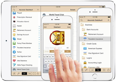 تطبيق-DataVault-لإدارة-كلمات-مرور-الأيفون