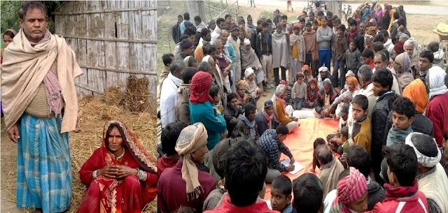 मधवापुर में पंचायत का तुगलकी फरमान, गांव से निकाला का आदेश