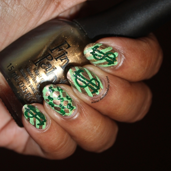 M is for money bcd nail art challenge day 10 prinsesfo Images