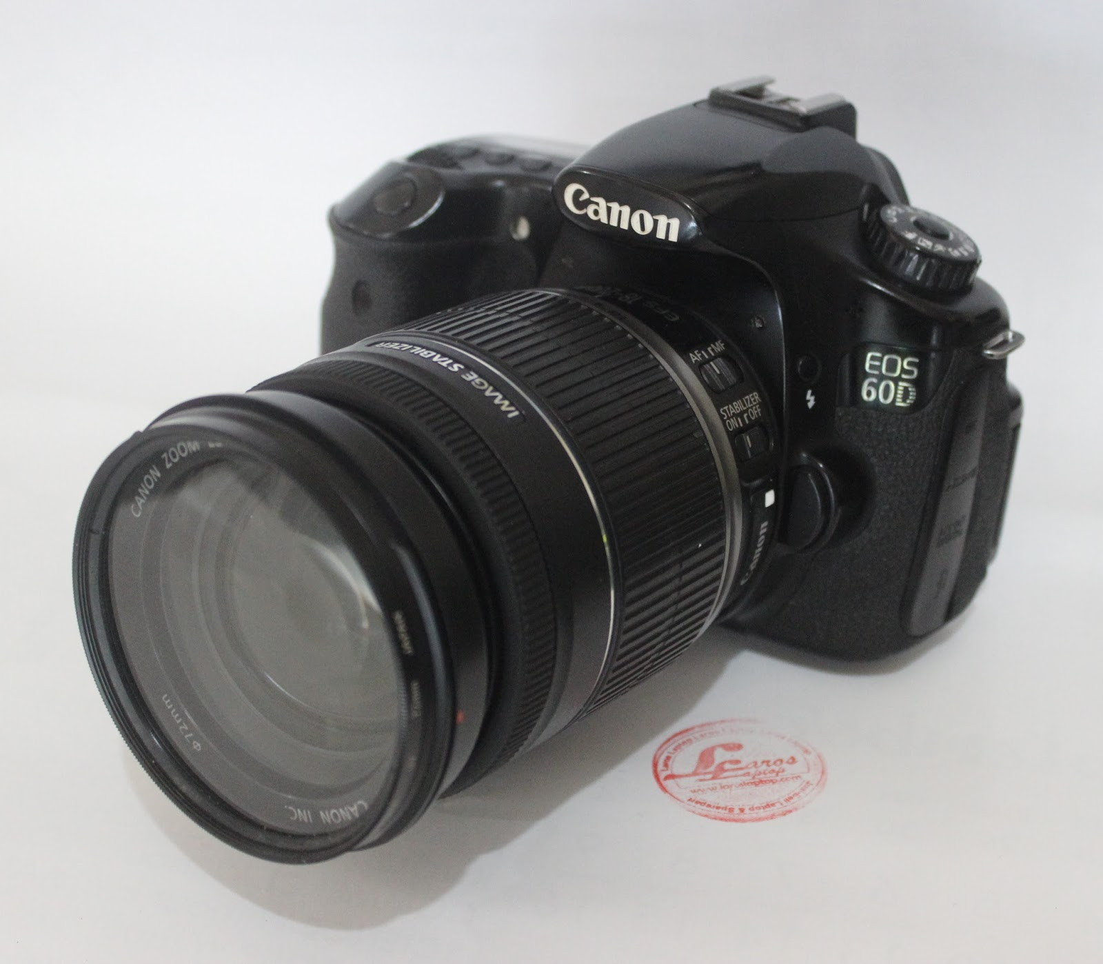 Jual Kamera DSLR Canon 60D Lensa 18 200mm IS