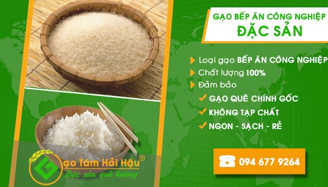 Đại lý cung cấp gạo bếp ăn khu công nghiệp