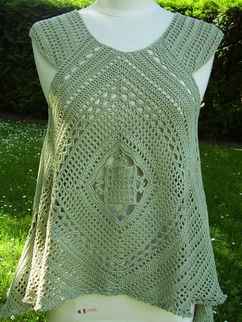 Lacy Swing Top - Free Pattern