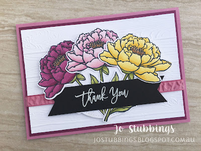 Jo's Stamping Spot - Thank You using You've Got This by Stampin' Up!