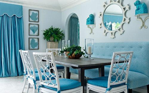 Interiores monocrom ticos - Colores para pintar una cocina comedor ...