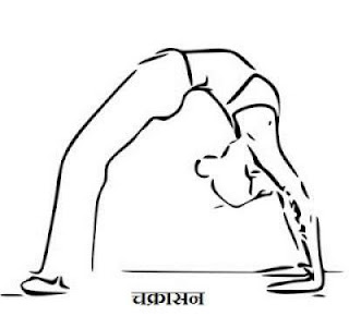 Chakrasana Yoga benefits in Hindi