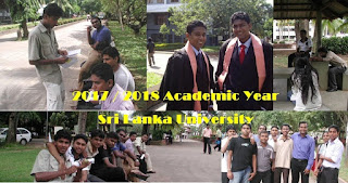 Sri Lanka University Campus New Academic Year - Z Score Cut Off Marks release June 2018