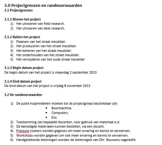 Projectgrenzen   More information