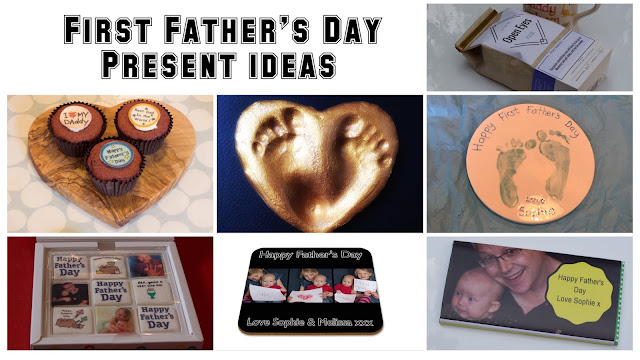 Collection of ideas for First Father's Day Presents