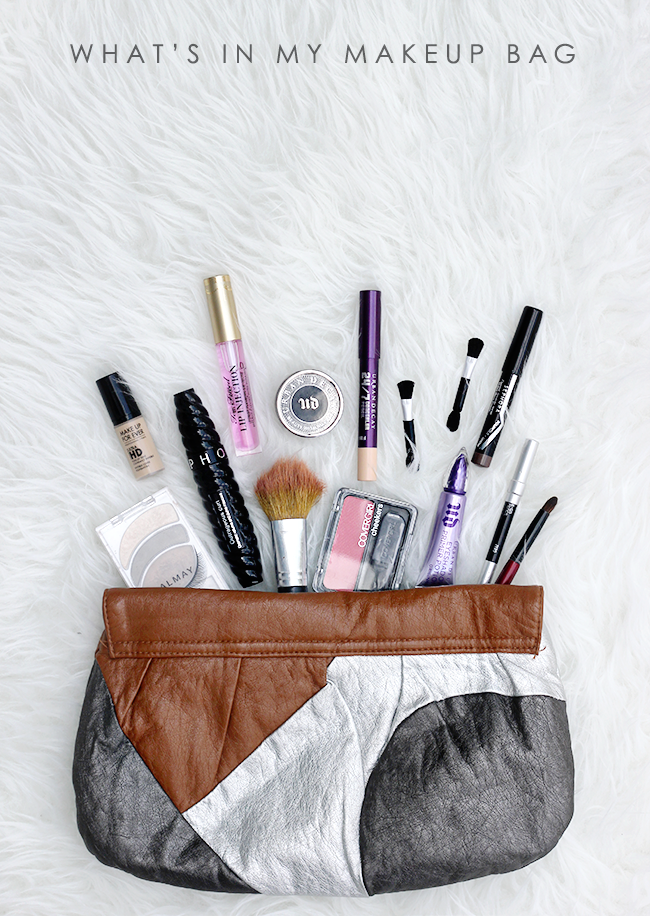 What's In My Makeup Bag // Bubby and Bean