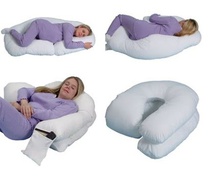 Leachco Snoogle Loop Contoured Fit Body Pillow Ivory