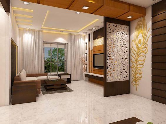 50 Modern room divider ideas - living room partition wall ...