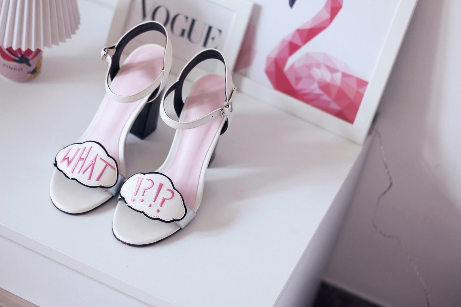 fashion shoes heels sandals asos flamingo interior design home pink sophia webster vogue glamour shoeting