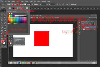 Tutorial Photoshop : Membuat Efek Drop Shadow di photosop