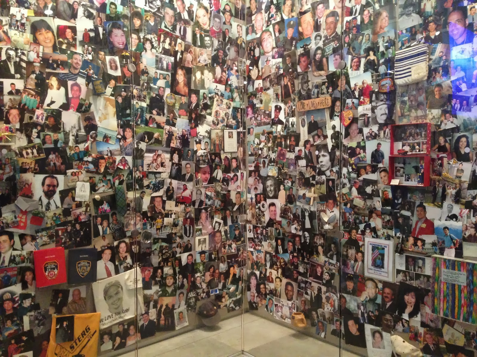 9/11 tribute center photo room new york