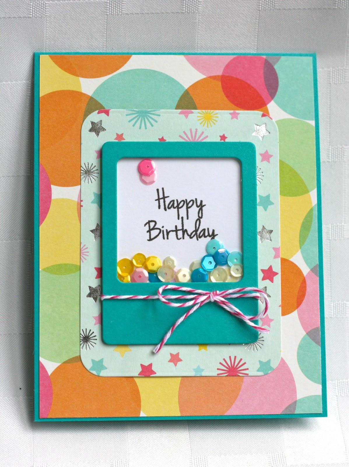 Rock Paper Cricut: Happy Birthday