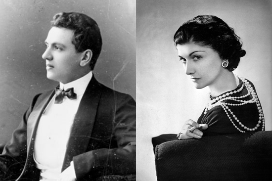 Ernest Beaux and Coco Chanel