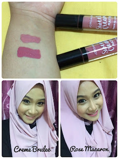 JORDANA SWEET CREAM MATTE LIQUID LIP COLOR SHADE CREME BRULEE DAN ROSE MACARON