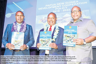 Minister reveals 30-year target to put PNG in world's top 50
