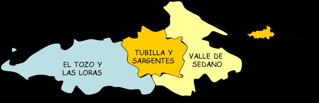 Valle De Sedano Mapa.Tierras De Burgos Sedano Y Las Loras