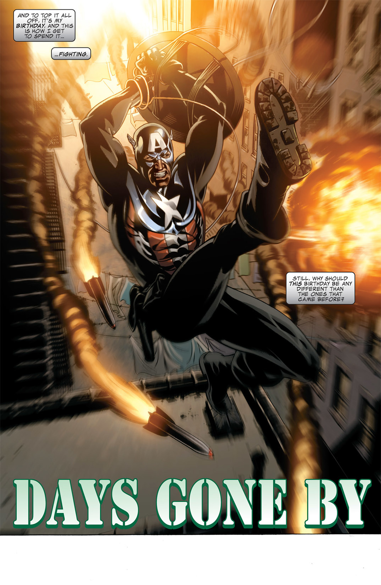Read online Captain America (2005) comic -  Issue #50 - 5