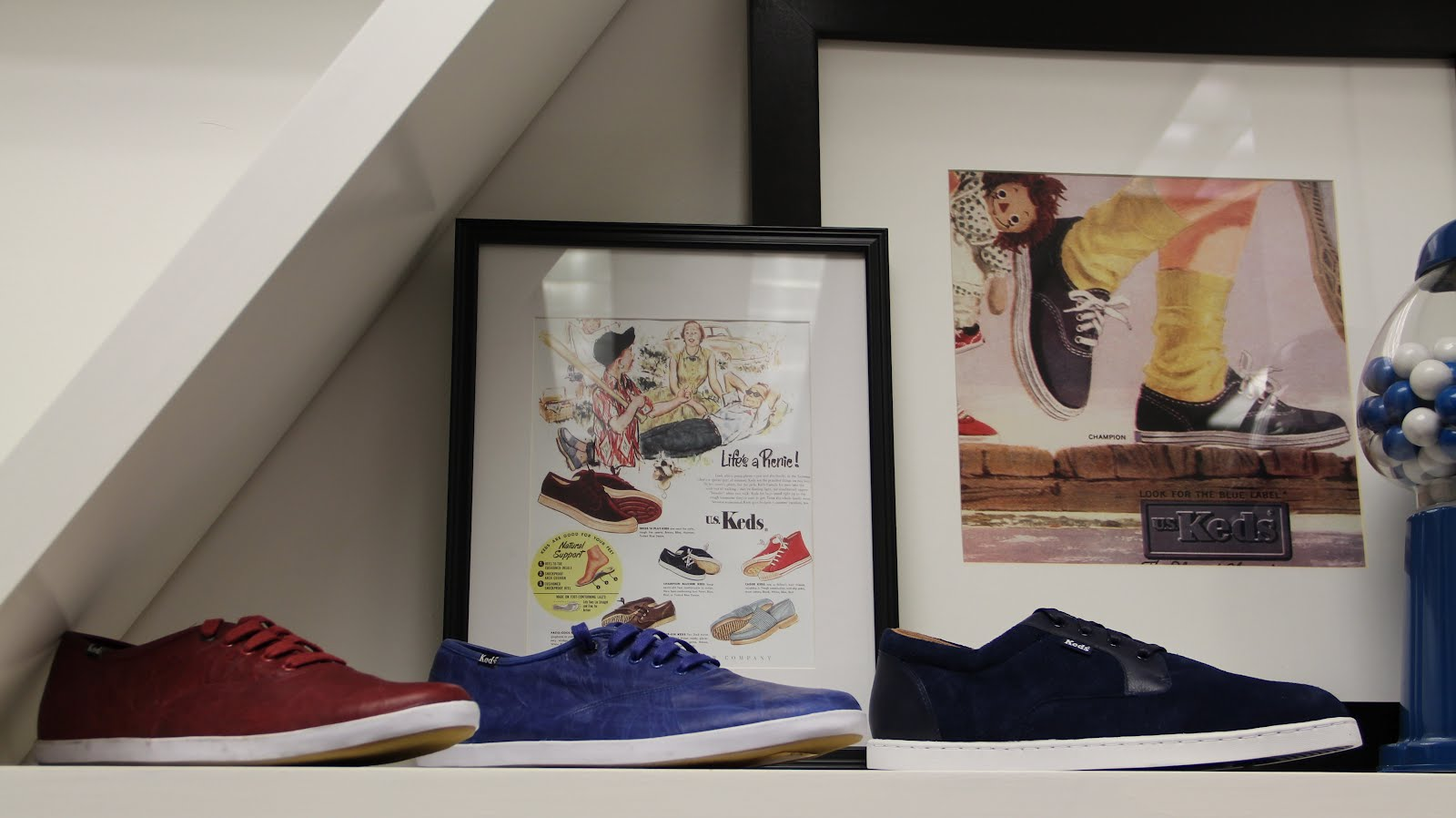 c9603916d5 These blue and red leather Keds are my favorites from the men s collection