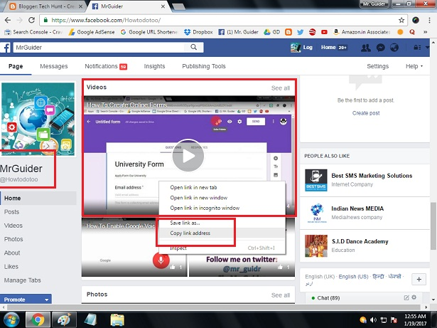 Easiest Way To Download/Save Facebook Video On PC & Android ~ Tech Hunt