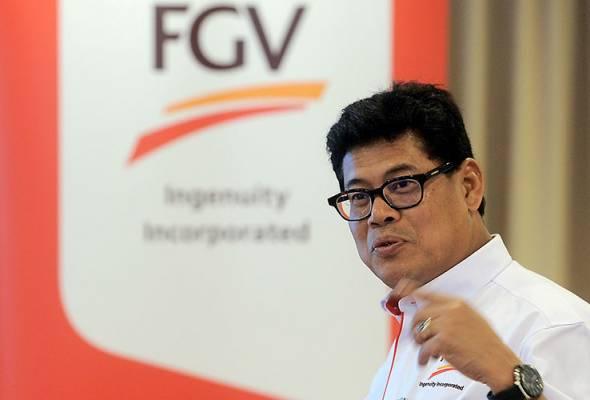 CEO FGV Zakaria Arshad Digantung Tugas