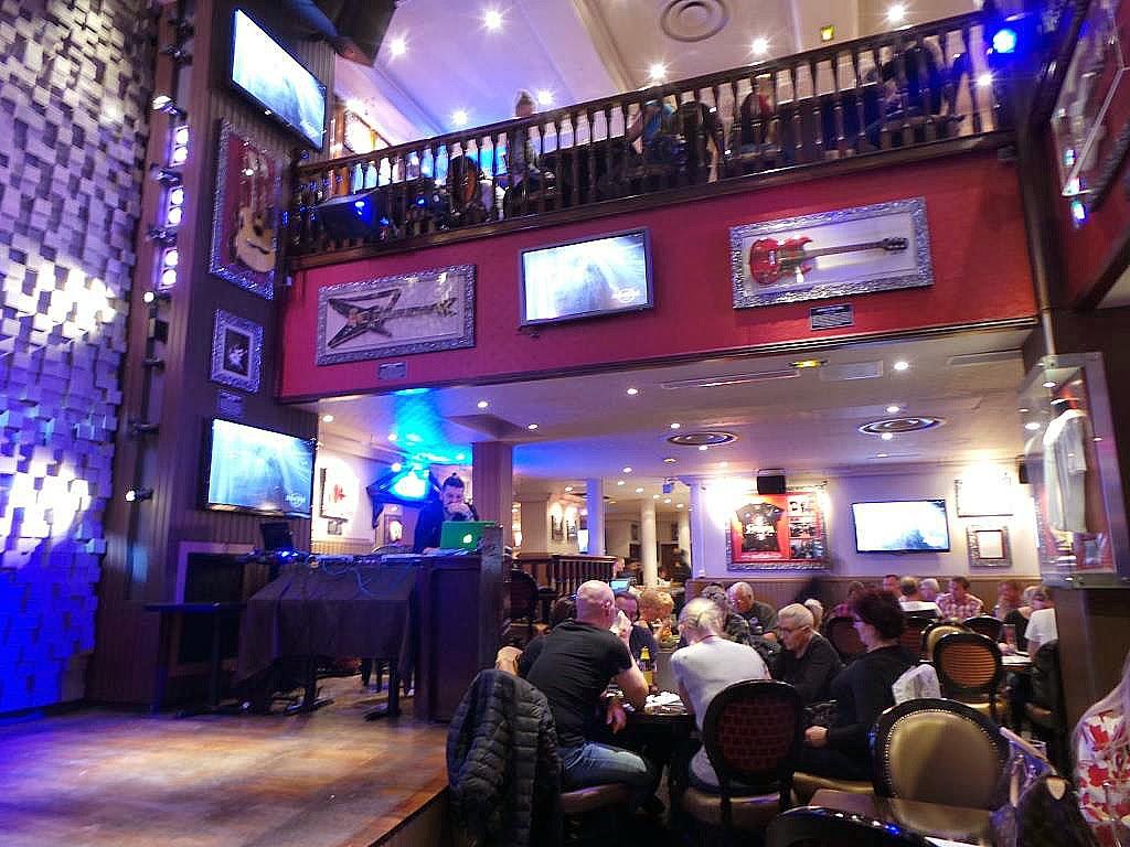 Carte Hard Rock Cafe Paris