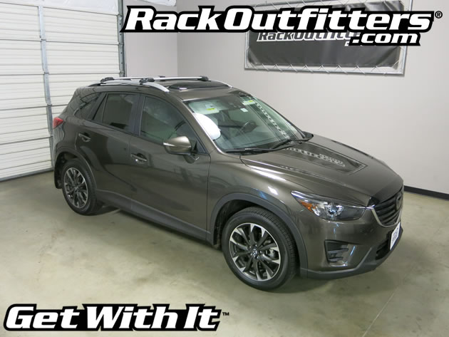 New Mazda CX-5 Thule SILVER AeroBlade EDGE Base Roof Rack ...