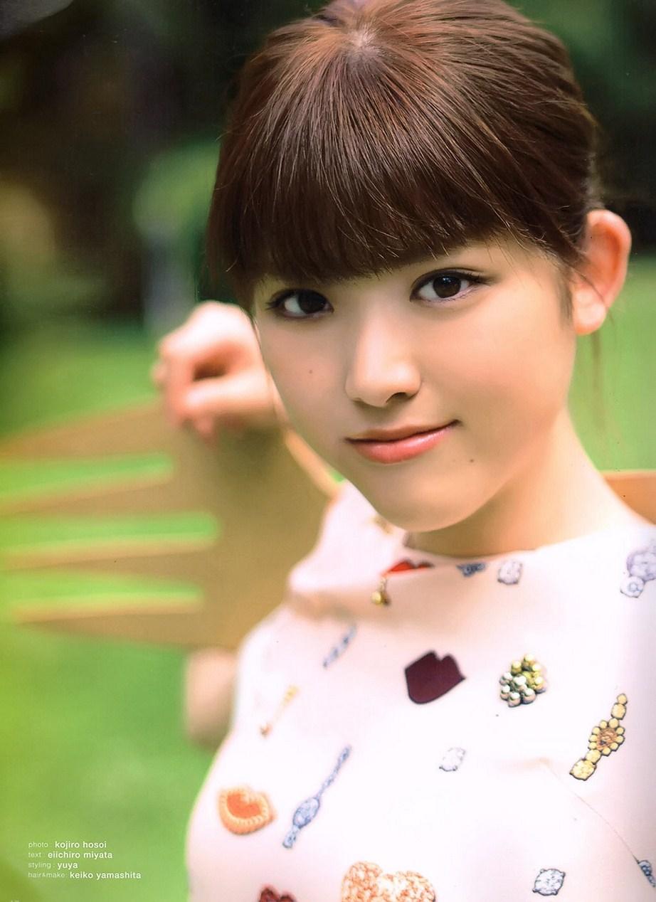 Matsumura Sayuri 松村沙友理 Nogizaka46, B.L.T Graph Magazine 2016 Vol.01 Gravure